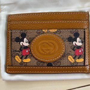 Gucci x Disney cardholder
